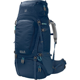 Jack Wolfskin Denali 60 Backpack Women blue